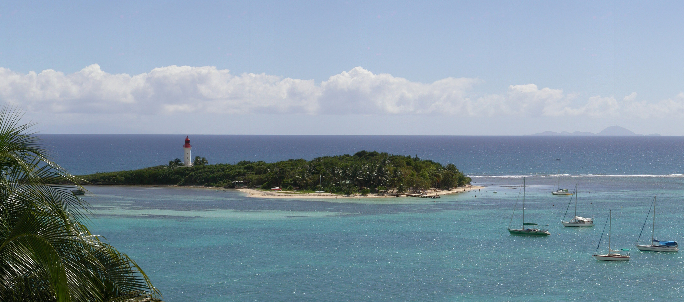 Résidence Turquoise Guadeloupe vue mer sea view et vue lagon laggon view